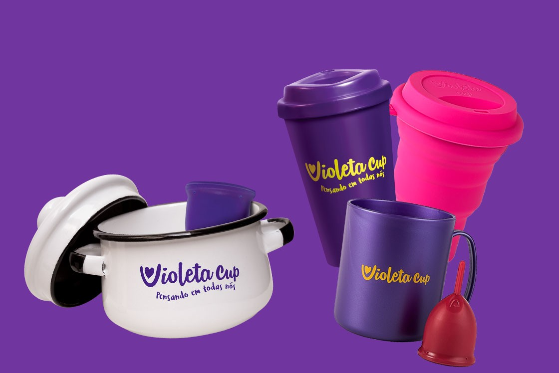 Produtos Higienização Violeta Cup